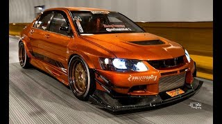 MITSUBISHI LANCER EVO BIG TURBO SOUNDS!!!