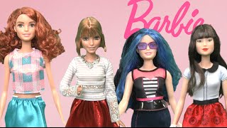 Barbie Fashionistas Dolls - Curvy, Tall, Petite & Original from Mattel