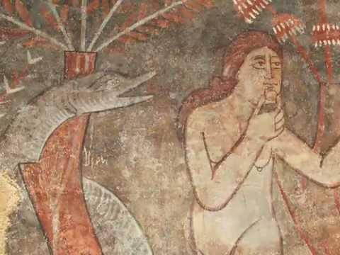 Peintures murales de l'abside de Sant Sadurní d'Osormort