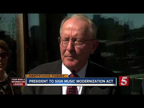 Trump To Sign Music Modernization Act