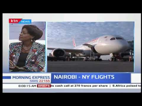 How Kenya plans to gain from direct flights to US