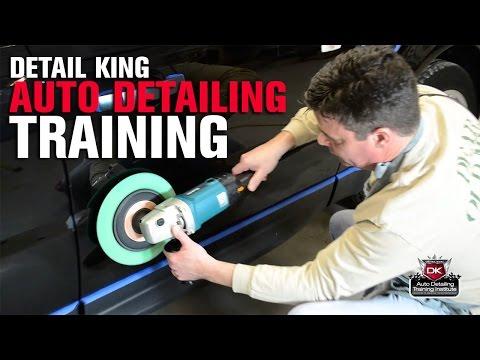 Auto Detailing Training School - YouTube