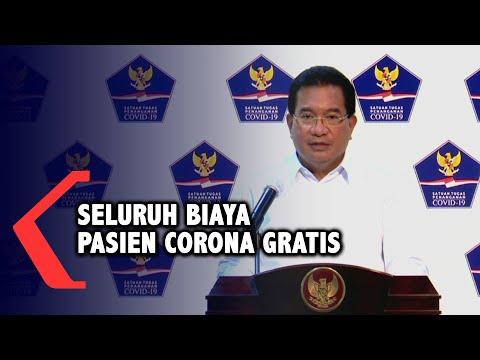 pemerintah seluruh biaya pasien corona di rs indonesia gratis