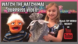 HATCHIMAL VIDEO SURPRISE-TOY WORLD WEEKLY