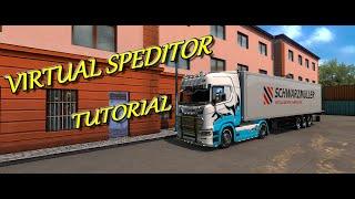 ETS2 1.36 Virtual Speditor 2.1 – Jak vytvořit zakázku nebo náklad do vlastního návěsu. 11.01.2020