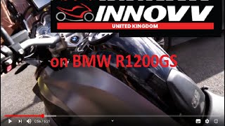 INNOVV K2 Motorcycle Camera System Camera Installation - BMW R1200GS LC