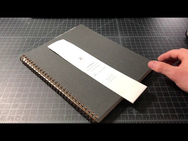 Appointed Notebook Review