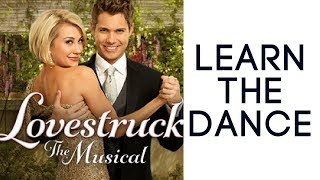 Drew Seeley/Chelsea Kane 'DJ got us fallin' in love' rehearsal (Lovestruck)