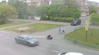 Astakada Находка Драка 27 мая 2018 Озёрный бульвар