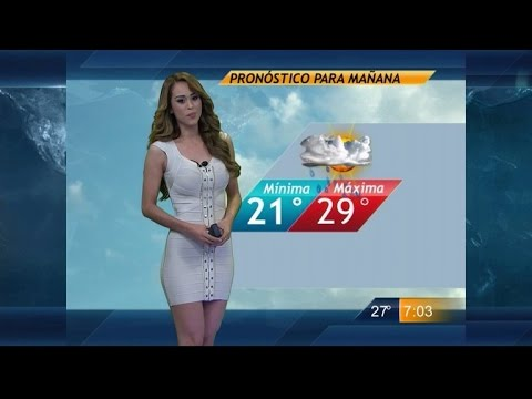 Meteorologists Overseas Wear Short Dresses, Shorts for Weather Forecast