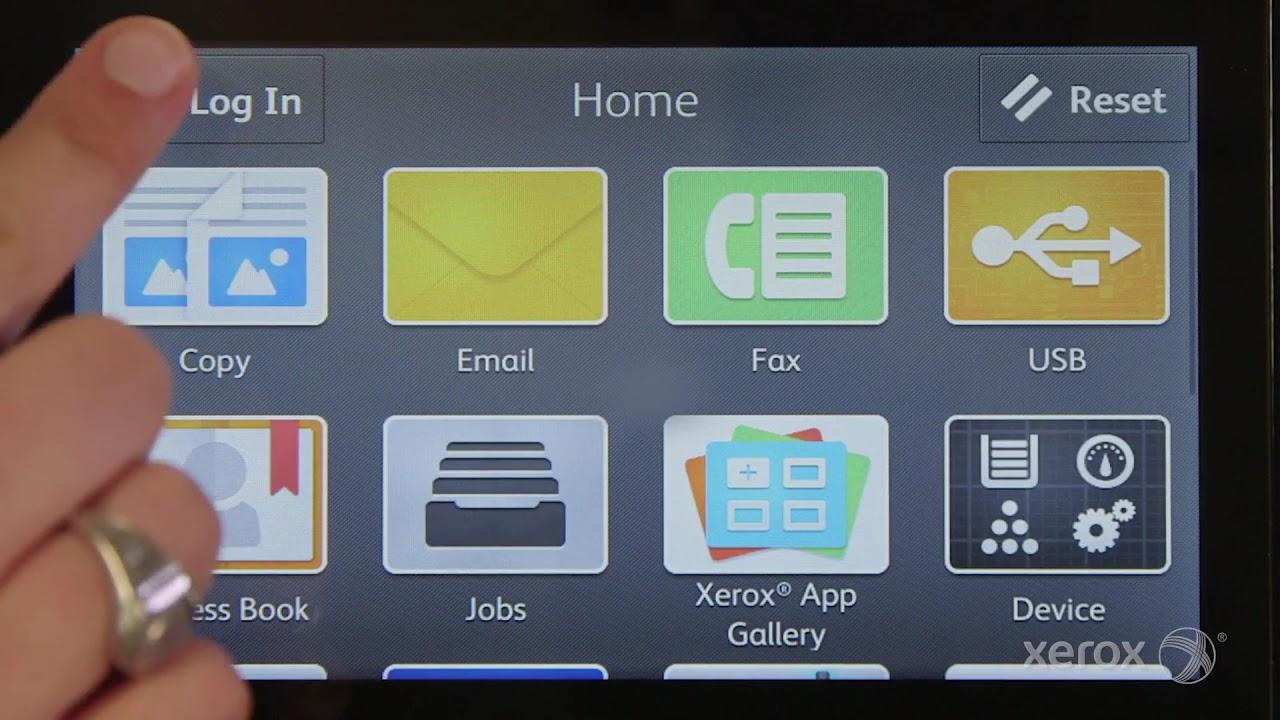 Xerox VersaLink Quick Tip: Setting up SimpleID YouTube Video