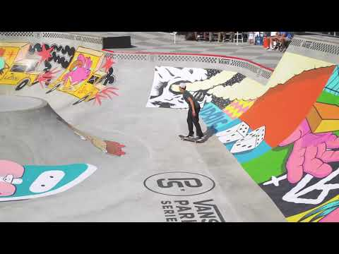 Alex Midler at Vans Park Series America's Continental Championships 2018