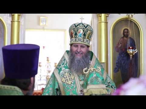 Митрополит Даниил посетил Крестовоздвиженский приход Шадринской епархии