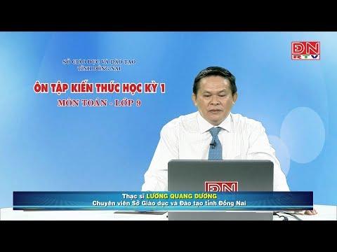 Ôn tập kiến thức HK1- Môn Toán - lớp 09 (28-02-2020)