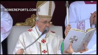 Papież Franciszek ogłosił Jana XXIII i Jana Pawła II świętymi