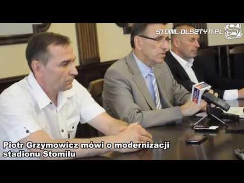 Piotr Grzymowicz zapowiada modernizację stadionu Stomilu