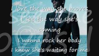 I love The Way She Moves---Akon & Zion (lyrics) HQ