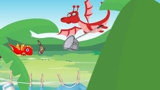 Семья Дракончика. Детский мультик смотрим онлайн на канале как сделать мультик. Creative Commons.