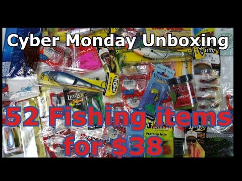Unboxing Fishing Tackle, Lures, and Gear – Outlet Bait and Tackle