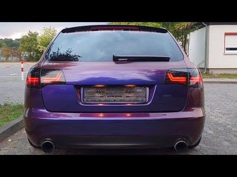 [7-LIGHTS] Audi A6 S6 RS6 4F Avant - Dynamischer Blinker Rücklichter Rückleuchten (Wischblinker)