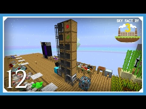 FTB Sky Factory 3 | External Refined Storage! | E12 (Modded Skyblock Minecraft 1.10.2)