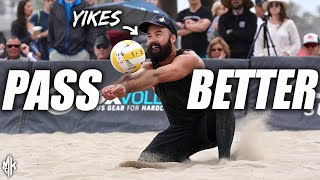 Beach Volleyball PASSING Technique Explained | Serve Receive Tips