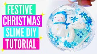 5 DIY Christmas Slime Tutorials// Easy How To Make Festive Christmas Holiday Slime Gifts 2018