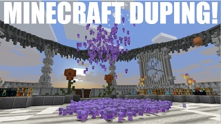 NEW DUPE GLITCH TO DUPE ANY BLOCK IN MINECRAFT! [STILL WORKING