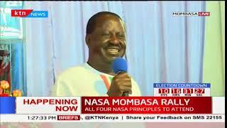 NASA leader Raila Odinga is confident of reaching Canaan