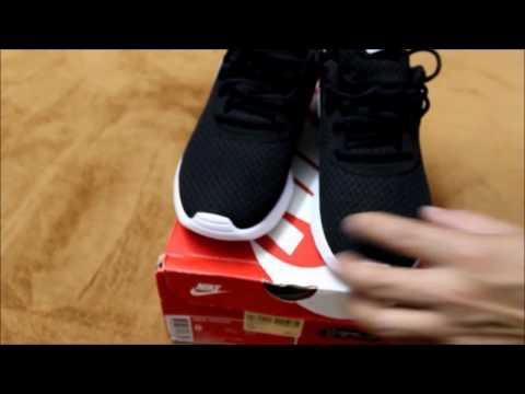 Nike Tanjun   Black/White   Unboxing & on-feet