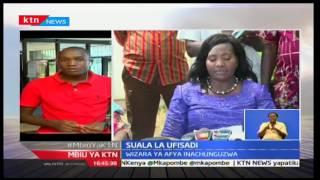 Leo Mashinani: Kamati la Bunge linalochunguza Wizara ya Afya yazuru Mombasa, 11/11/16