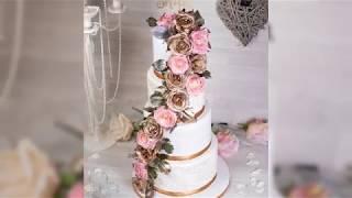 4 Tier Floral Wedding Cake 💍🌹