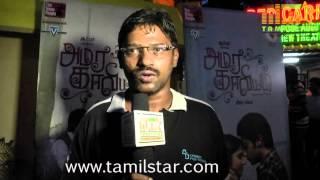 Editor Suriya at Amarakaviyam Movie Press Meet