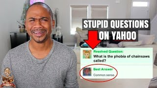 Dumbest Fails #68 | The Stupidest STUPID questions on the internet | Yahoo Answers (2018)