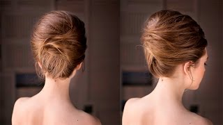 Brigitte Bardot hairstyle Updo French roll