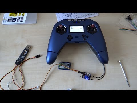 FrSky Taranis X-Lite Pro flashing receiver from banggood