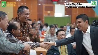 "Louching Buku ""Dari KYIV Menulis Indonesia"" Prof. Dr. Yuddy Chrisnandi SH, ME"