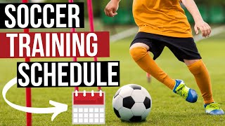How To Make A Soccer Training Schedule