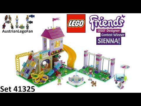 Vidéo LEGO Friends 41325 : L'aire de jeu d'Heartlake City