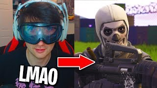 So I Played Fortnite With DRUNK GOGGLES On...(This Is What Happened)