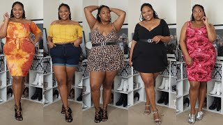 PLUS SIZE FASHION HAUL | RAINBOW & BOOHOO PLUS!!!! #PlusSizeFashion