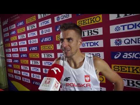 MŚ Doha 2019: Marcin Lewandowski z awansem do półfinału