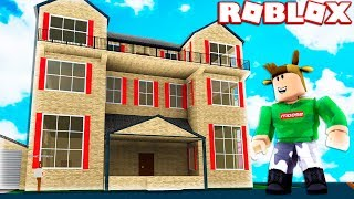 BUYING A NEW MANSION! (Roblox Work At A Pizza Place)