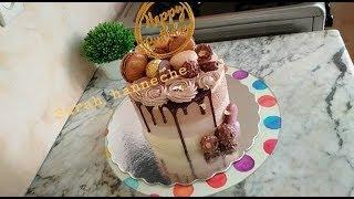 Layer Cake Choco Praliné  لاير كيك بكريمة البراليني