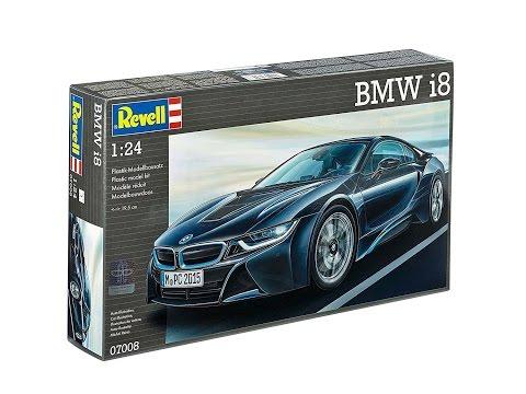 Maquette REVELL - Coffret 100 Ans BMW - I8 + 507 + Colle Peintures 1/24 - 05738
