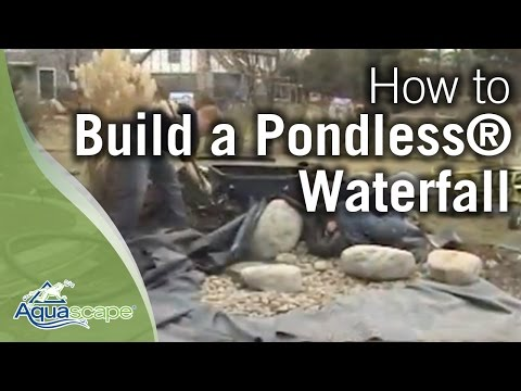 How To Construct A Pondless Waterfall South Pleasantburg
