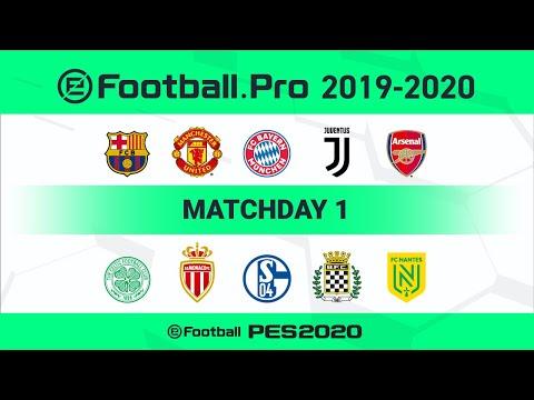 PES | eFootball.Pro 2019-2020 #1 Full matches