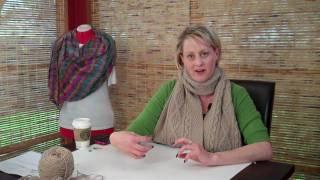 Learn to Knit an Aran Shawl - Part 1