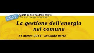 preview picture of video 'Interreg COME: La gestione dell'energia nel Comune. Pubblica illuminazione - 2/2'