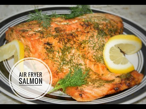 Air Fryer Salmon Recipe - How To Cook Fish In An Air Fryer
